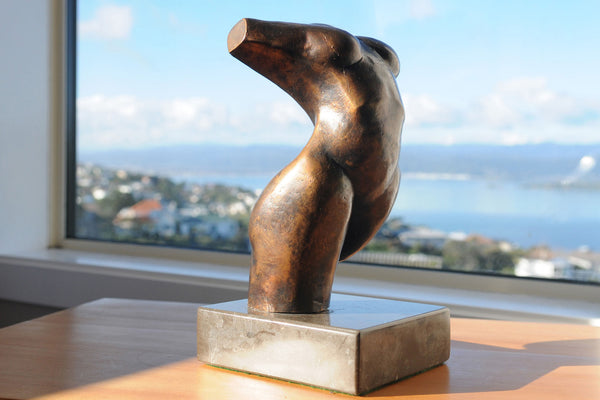 Ecstasy – Abstract bronze sculpture by Stephen Williams