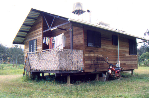 Stephen Williams – Writer of fiction. At his teacher's house at Koroba High School, Southern Highlands Province, PNG