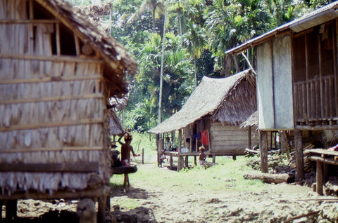 Stephen Williams – Writer of fiction. Village, Trobriand Islands, PNG