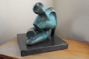 Abstract female figurative bronze sculpture for sale by Stephen Williams