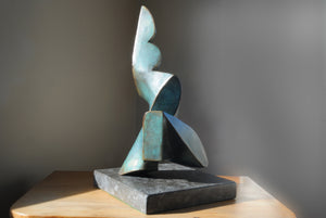 Abstract bronze sculpture for sale by Stephen Williams