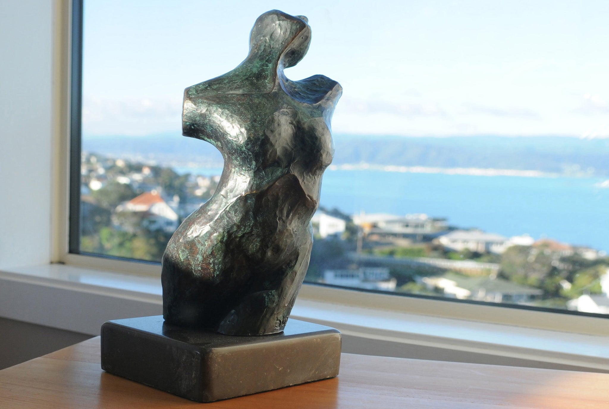 Standing figurative bronze sculpture for sale by Stephen Williams.