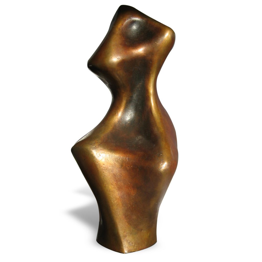 Abstract expressionist bronze sculpture for sale by Stephen Williams.