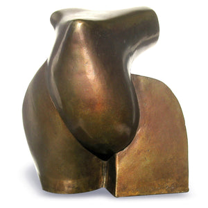 Abstract figurative bronze sculpture for sale by Stephen Williams.