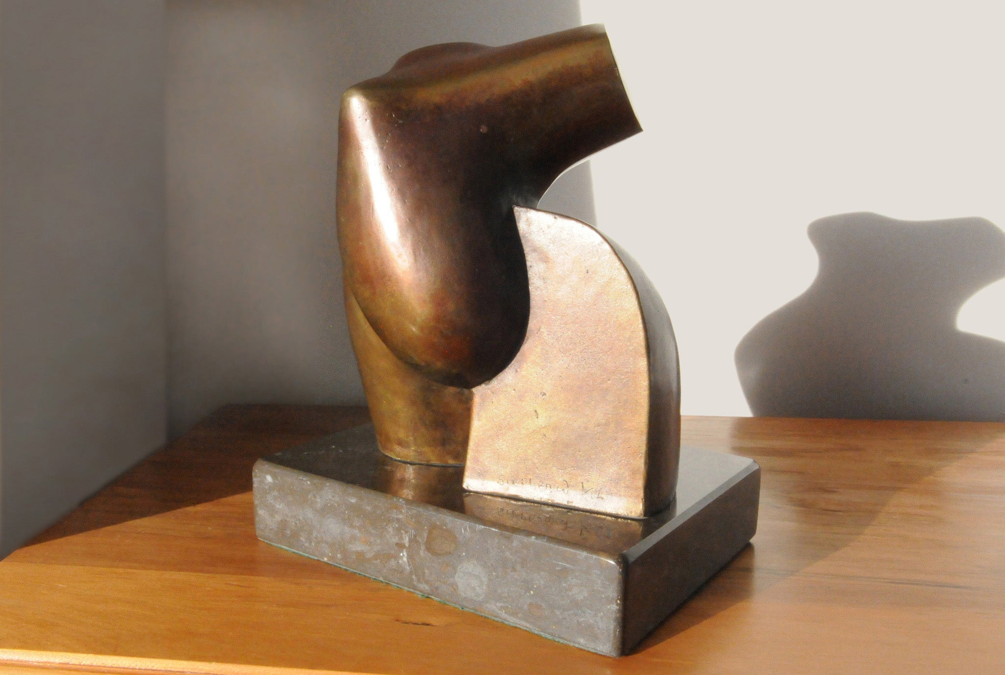 Abstract  bronze figure sculpture for sale by Stephen Williams.