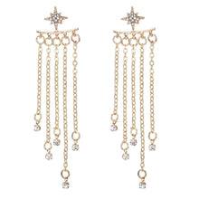 Load image into Gallery viewer, 1 Pair Fashion Women Stylish Gold/ Silver Color Star Earrings - Earrings
