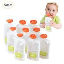 Load image into Gallery viewer, 50 Pouches For Infant Squeezing Machine