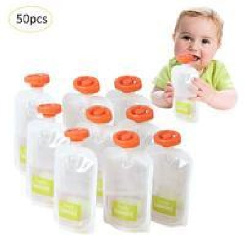 50 Pouches For Infant Squeezing Machine