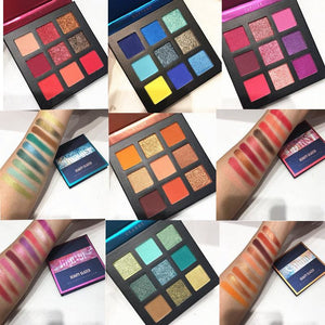 Beauty Glazed Makeup Eyeshadow Palette Pigmented