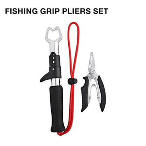 Born Wild Multipurpose Pliers And Fish Grip With Scale - Grip Pliers Set