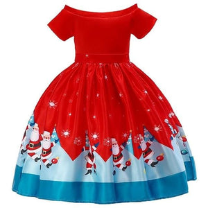 Christmas Princess Knee-length 2-12year - as pictures 15 / 3T