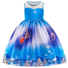 Load image into Gallery viewer, Christmas Princess Knee-length 2-12year - as pictures 5 / 4T