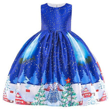 Load image into Gallery viewer, Christmas Princess Knee-length 2-12year - as pictures 6 / 3T