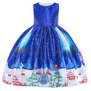 Christmas Princess Knee-length 2-12year - as pictures 6 / 3T