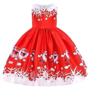 Christmas Princess Knee-length 2-12year - as pictures 9 / 3T