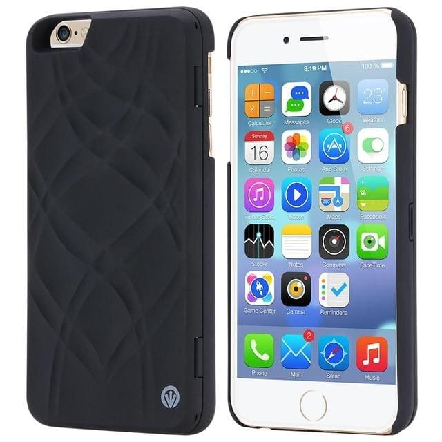 cool Iphone Mirror Cover - Black / For iPhone 6 6S