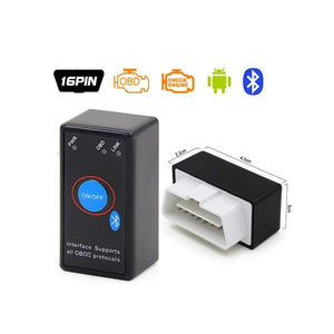 ELM327 OBD2 Bluetooth/WIFI V1.5 Car Diagnostic Tool ELM 327 OBD II Android/IOS/Windows 12V Diesel - ELM327 Bluetooth 2