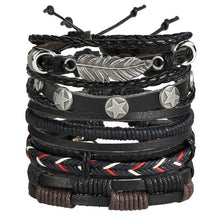 Load image into Gallery viewer, Handmade Multi layer Braided Leather Bracelet - BJDY707 - Bracelets