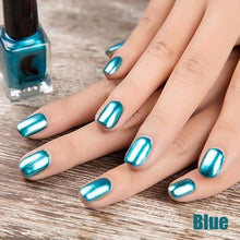 Load image into Gallery viewer, Long-Lasting Glossy Nail Polish - Blue