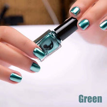 Load image into Gallery viewer, Long-Lasting Glossy Nail Polish - green
