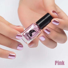 Load image into Gallery viewer, Long-Lasting Glossy Nail Polish - pink