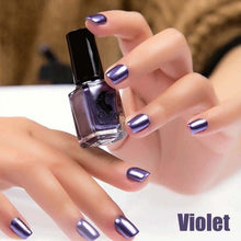 Load image into Gallery viewer, Long-Lasting Glossy Nail Polish - violet