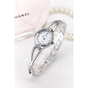 Luxury Ladies Simple Watch - SILVER 2 - Wristwatches