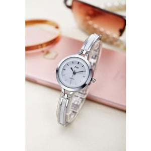 Luxury Ladies Simple Watch - SILVER 3 - Wristwatches
