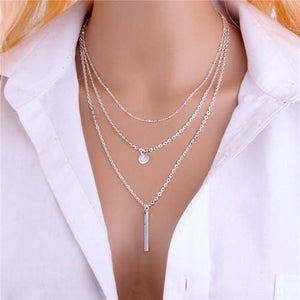 Luxury Multi layer Necklaces - Style 7 - Necklaces