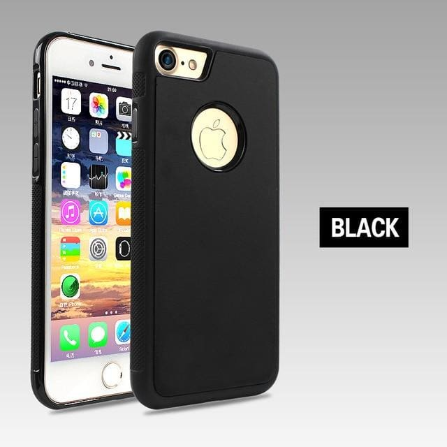 Nano Tech Anti-gravity Phone Case For IPhone - Black / For iPhone 6 6S