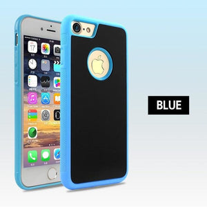 Nano Tech Anti-gravity Phone Case For IPhone - Blue / For iPhone 6 6S