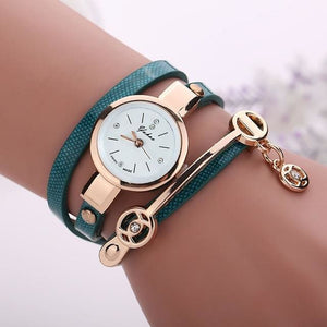 Pretty Lady Watch/bracelet - Green - Bracelets