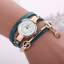 Load image into Gallery viewer, Pretty Lady Watch/bracelet - Green - Bracelets