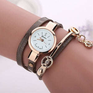 Pretty Lady Watch/bracelet - Navy - Bracelets