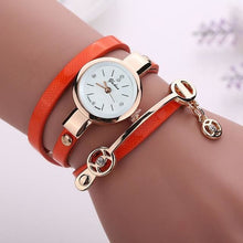 Load image into Gallery viewer, Pretty Lady Watch/bracelet - Orange - Bracelets