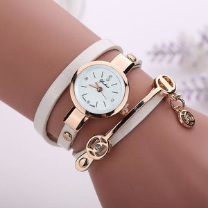 Pretty Lady Watch/bracelet - White - Bracelets