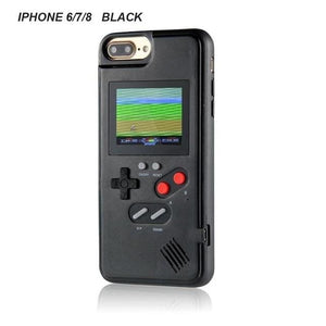 Retro Gaming Phone Case for iPhone - Black / for iphone 6 7 8