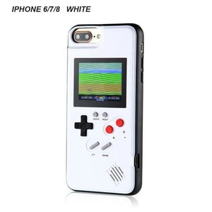 Retro Gaming Phone Case for iPhone - WHITE / for iphone 6 7 8
