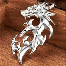 Load image into Gallery viewer, Silver Dragon Necklaces