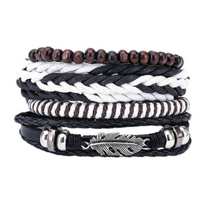 Simple Handmade Leather Bracelets - 03 - Bracelets