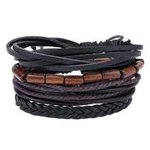 Load image into Gallery viewer, Simple Handmade Leather Bracelets - 06 - Bracelets