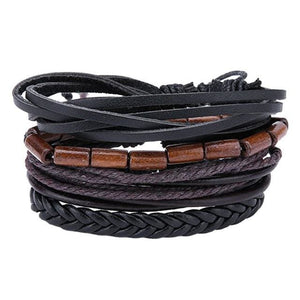 Simple Handmade Leather Bracelets - 06 - Bracelets