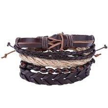 Load image into Gallery viewer, Simple Handmade Leather Bracelets - 08 - Bracelets