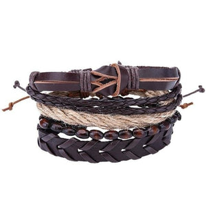 Simple Handmade Leather Bracelets - 08 - Bracelets