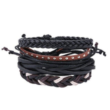 Load image into Gallery viewer, Simple Handmade Leather Bracelets - 09 - Bracelets