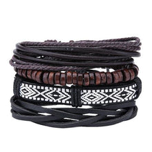 Load image into Gallery viewer, Simple Handmade Leather Bracelets - 10 - Bracelets