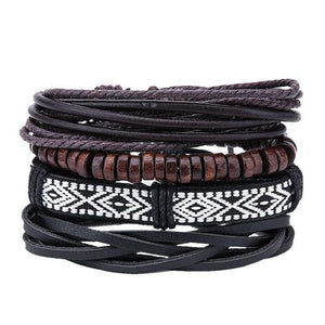Simple Handmade Leather Bracelets - 10 - Bracelets