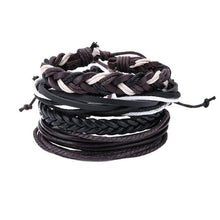 Load image into Gallery viewer, Simple Handmade Leather Bracelets - 12 - Bracelets
