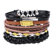 Load image into Gallery viewer, Simple Handmade Leather Bracelets - 13 - Bracelets