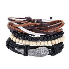 Load image into Gallery viewer, Simple Handmade Leather Bracelets - 14 - Bracelets